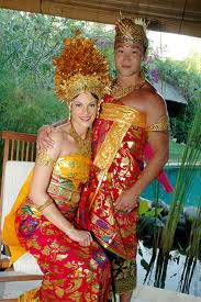 Balinese wedding costume