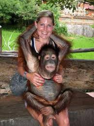 Photo with Orang Utan