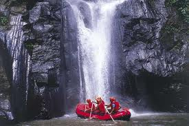 Ayung Rafting - Waterfall