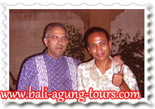 Agung & Mr Ramos Horta from Timor Leste