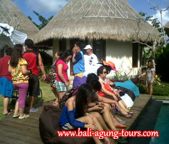 Enjoy Bali with Philipines Group