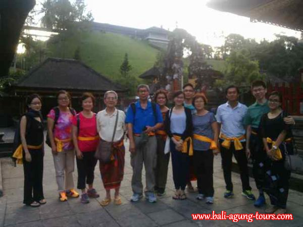 Family Trip in Bali with Kong Wei Chor from Malaysia
