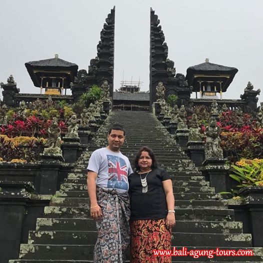 Besakih Temple Tour with Mr Sambit from Singapore