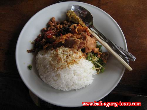 NASI CAMPUR aka Mixed Rice