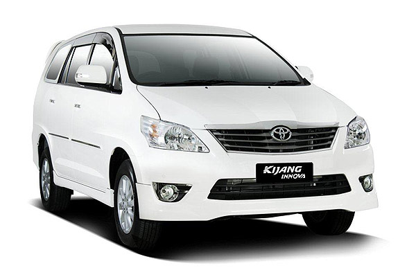Toyota Kijang Innova With English Speaking Driver