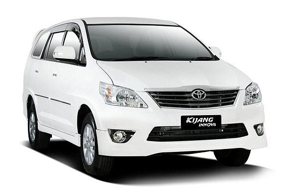 Toyota Kijang Innova with English Speaking Driver