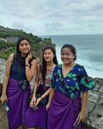 Uluwatu Temple Visit with Joan Tan from Philipines