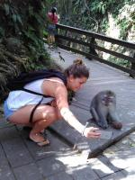 Selfi experience at Monkey Forest ubud, wanna try ?
