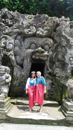 Elephant Cave Temple, An Archaeology tour in Bali island