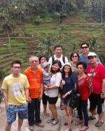 Visiting Tegalalang Rice Terrace with Swee's Family from Kuala Lumpur